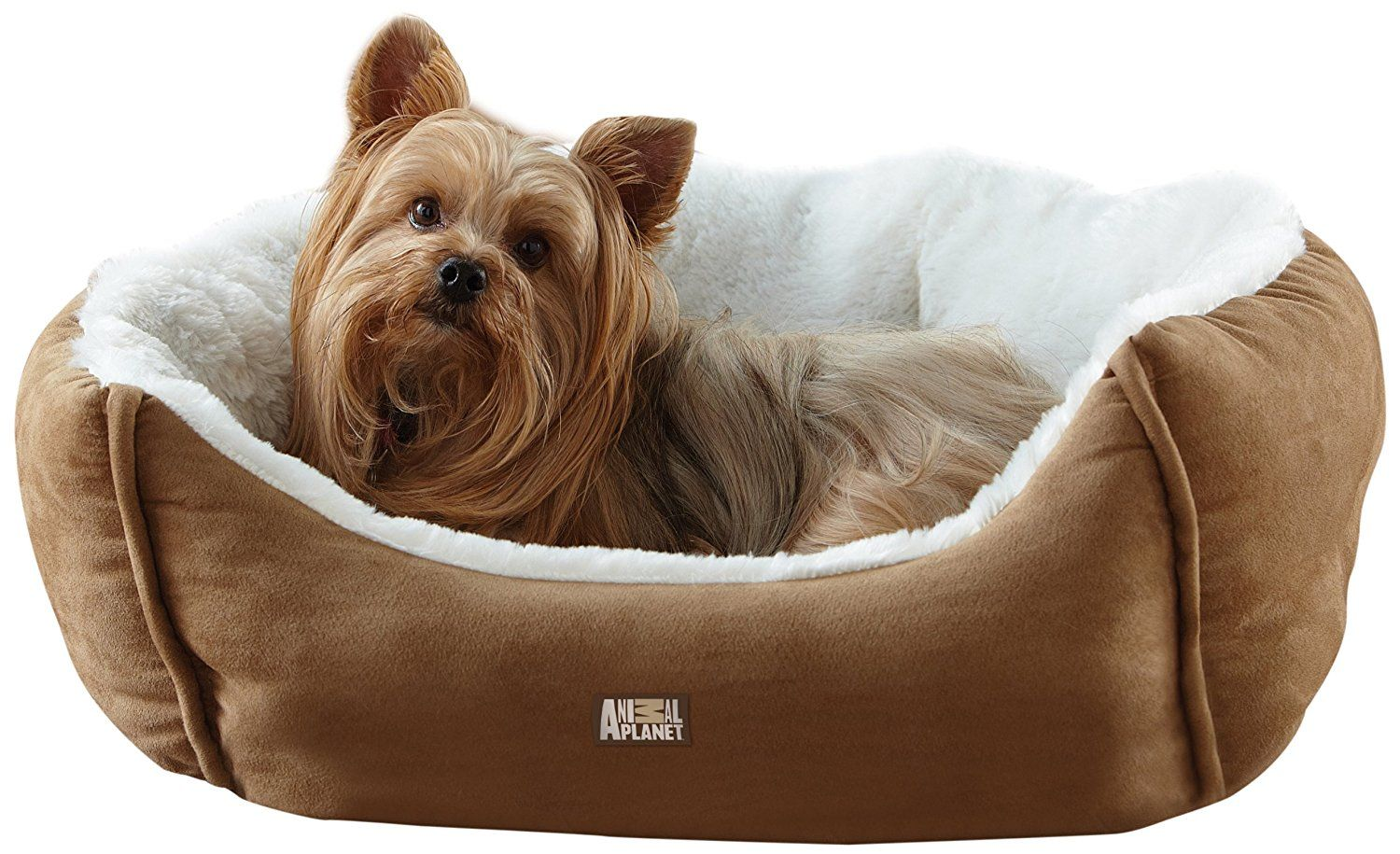 Animal Micro Suede Pet Bed, Tan *** To view further