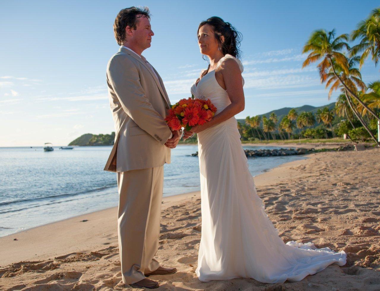 Seaside Weddings At Curtain Bluff Antigua Seaside Wedding