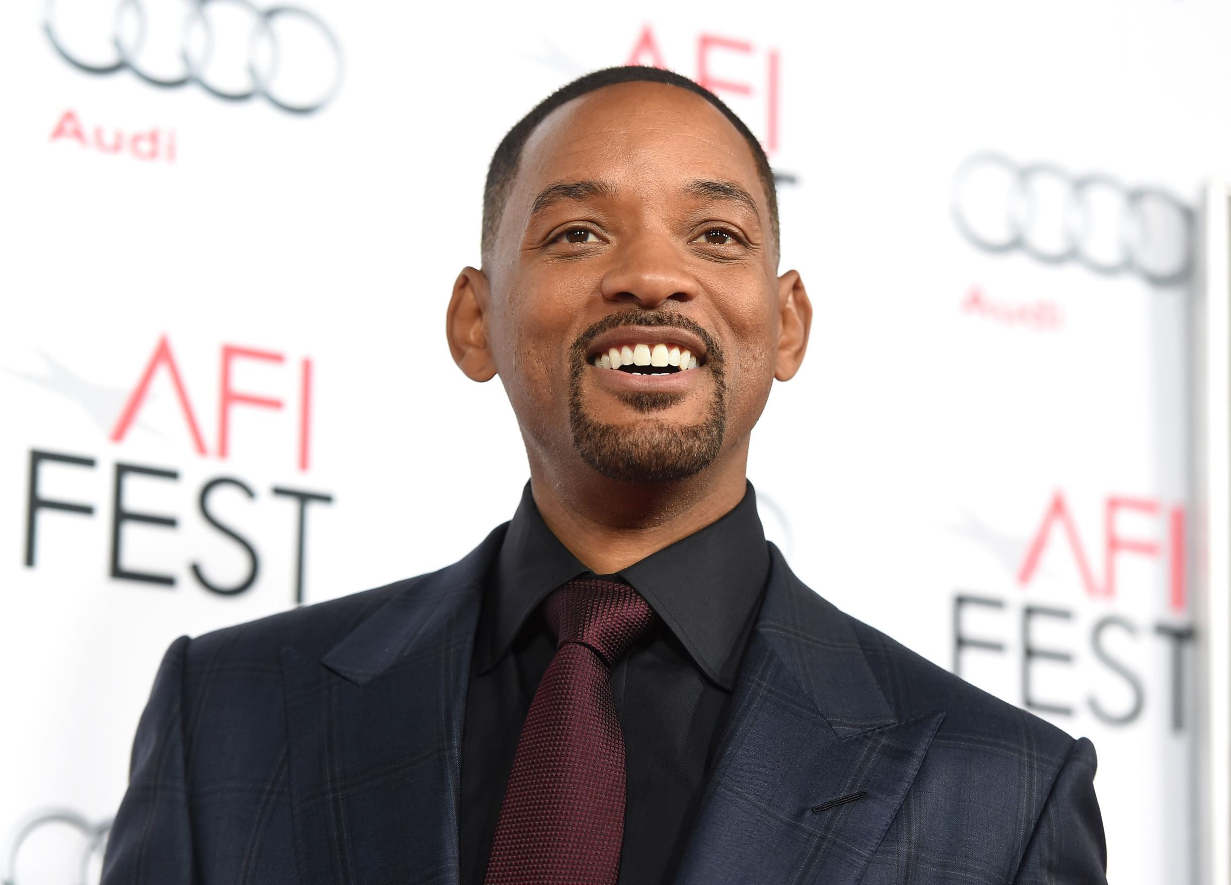 """If you really want Will Smith to star in your movie, the best thing to do is get someone with a ton of clout to convince the actor to take on the role. Like Ridley Scott. At the AFI Fest premiere of Concussion in Hollywood Tuesday, writer/director Peter Landesman told USA TODAY he wrote the script about real-life Dr. Bennet Omalu and his discovery of football-induced brain injury, CTE, with only Will Smith in mind to star as the Nigerian forensic neuropathologist. """"Will was in this movie…"""