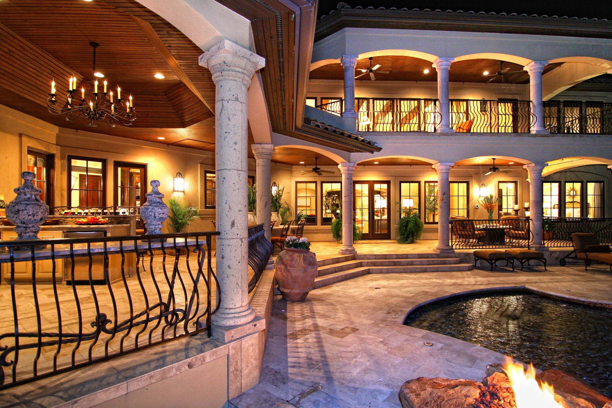 horseshoe bay tuscan lake house outdoor living by zbranek u0026 holt