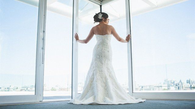 Wedding Dress Victoria B C