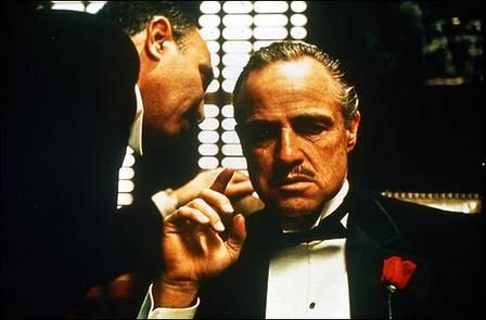"""""""I'll make him an offer he can't refuse"""" - The Godfather"""