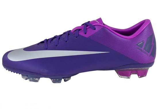 Nike Cleats purple/blue sweet