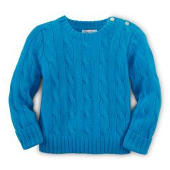 73bd48fc1 Cable-Knit Cashmere Sweater - Baby Boy Sweaters - RalphLauren.com ...