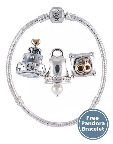 Pandora Wedding Charm Gift Set Pandora Wedding Charms Pandora Wedding Wedding Charm