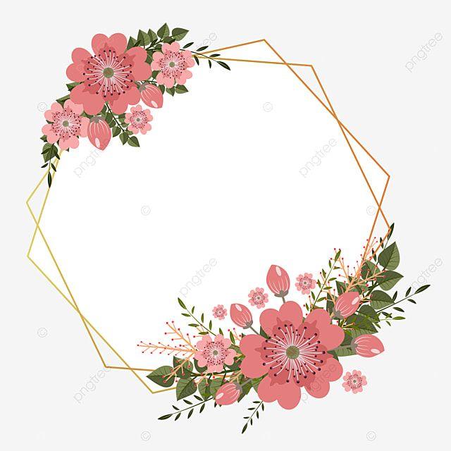 Gambar Bingkai Bunga Dengan Bunga Sakura Dan Daun Bingkai Bunga Bunga Sakura Mekar Clipart Png Dan Vektor Dengan Latar Belakang Transparan Untuk Unduh Gratis Embroidery Flowers Pattern Flower Frame Floral Background