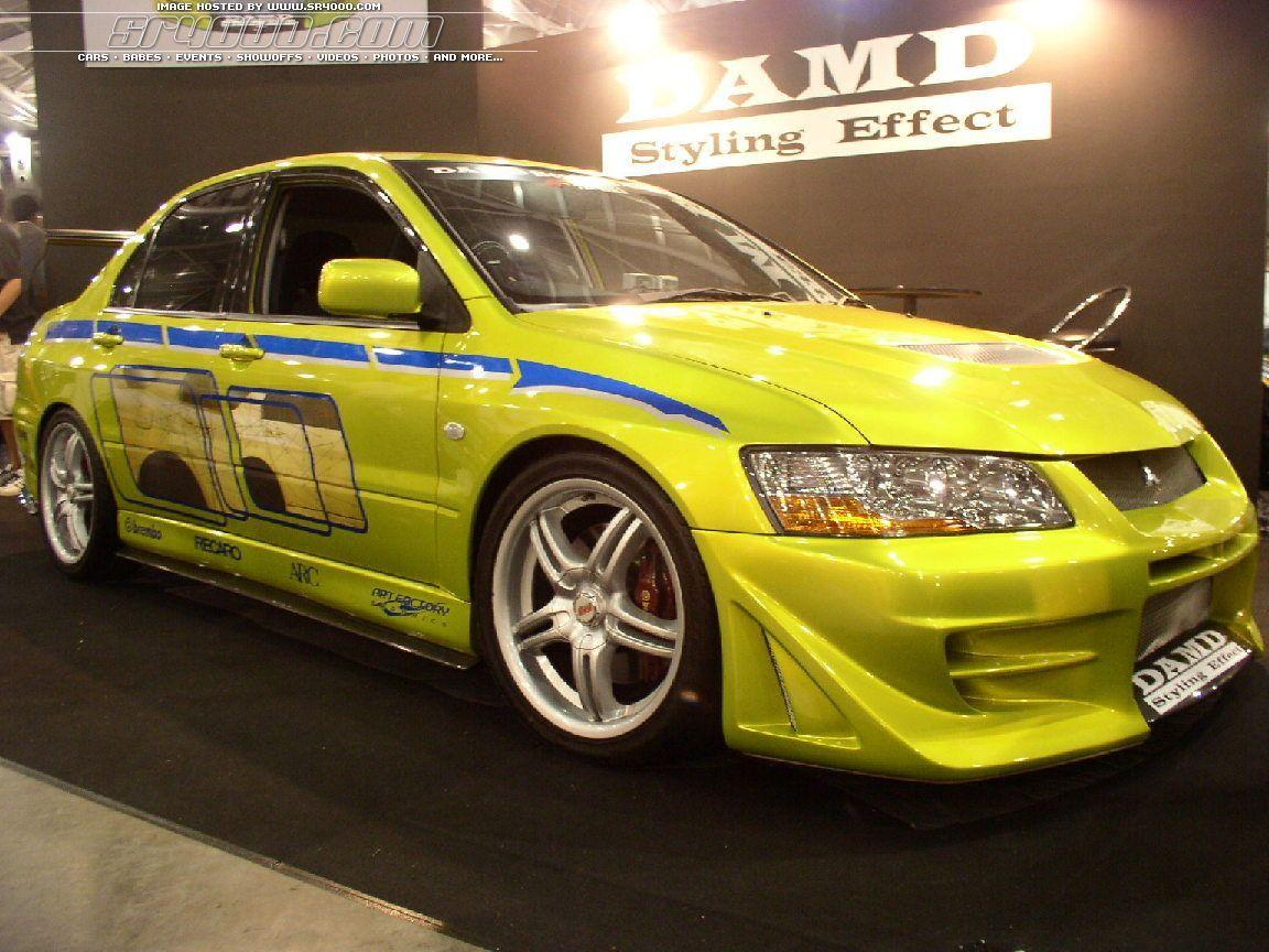 2Fast 2Furious Car Evo