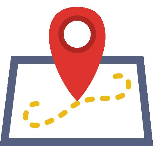 Mapa de ubicación icono gratis Icono gratis, Iconos