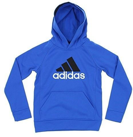 075e164d7225 adidas Youth Big Boys Climawarm Performance Hoodie (Small (8)