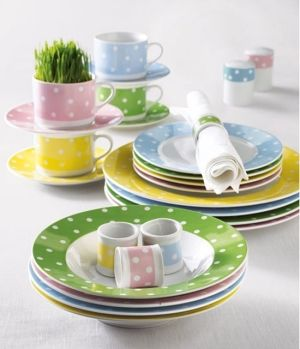 Beloved polka dots by lucylaine coisas bacanas pinterest girl dishes love them negle Images
