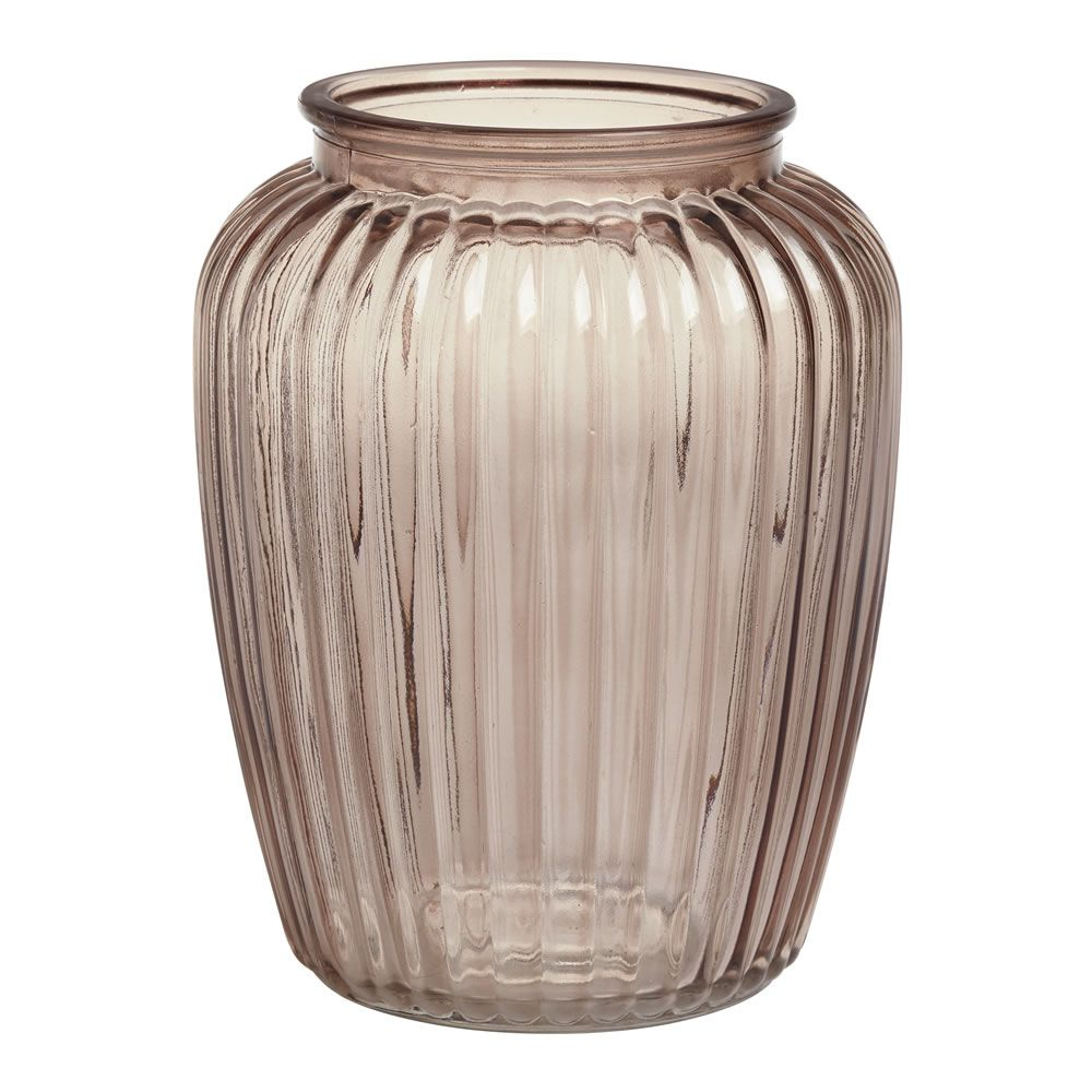 Wilko ribbed hurricane vase mink naturals collection bedroom wilko ribbed hurricane vase mink naturals collection reviewsmspy