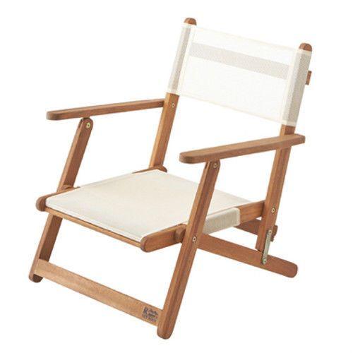directors chair folding floor low wooden concert live seat garden