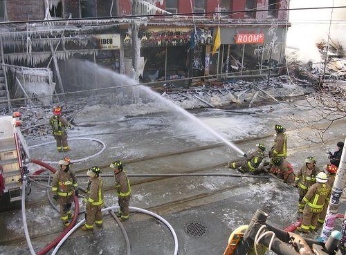 Multi alarm fire