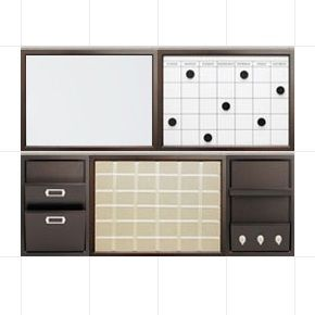 wall mounted office organizer system. I Just Created My Own Daily System Set. Create Your Now At Potterybarn. Wall Mounted Office Organizer T