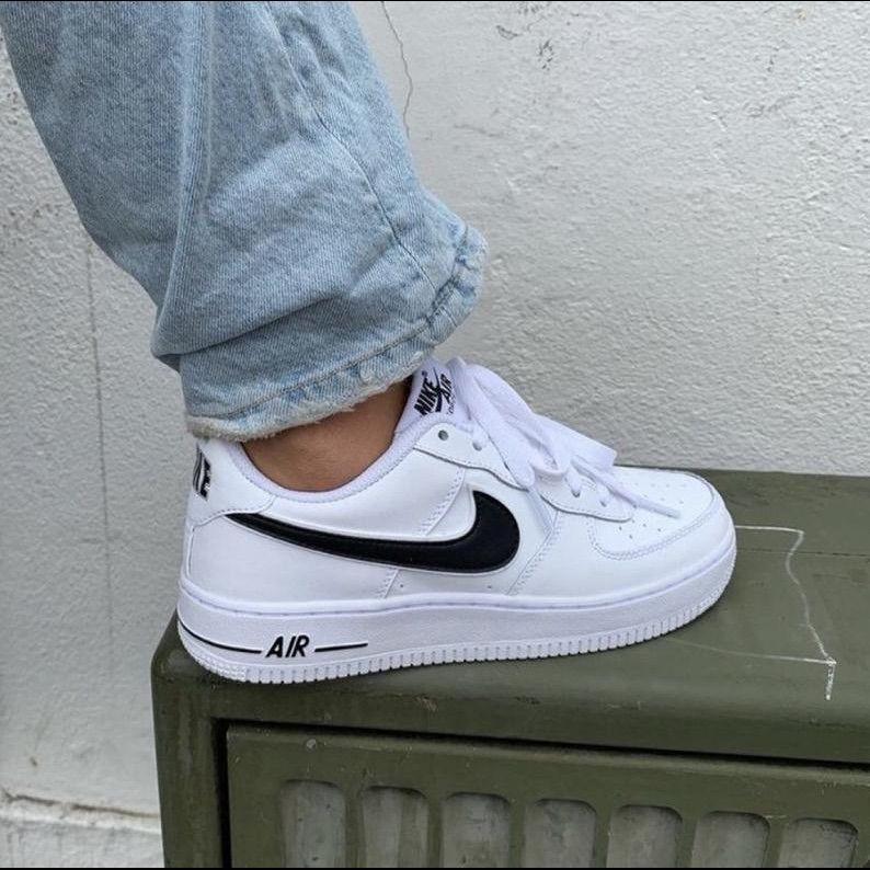 Nike Shoes | Nwt Nike Custom Black Air Force 1s |