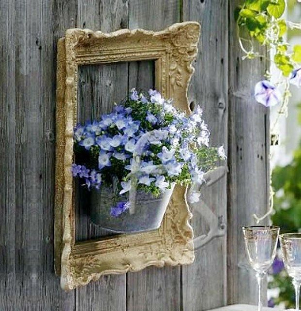 Photo of Amazing ideas for eyecatching DIY framed flower gardens