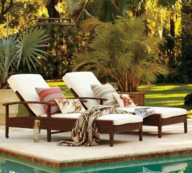 Terrassen » Liegestuhl im Garten – 55 Ideen für Gestaltung vom Loun ...