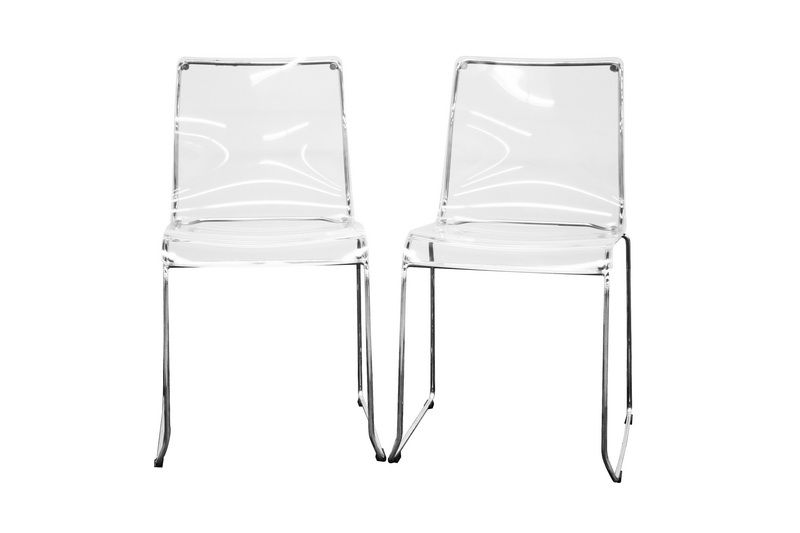 Clear Acrylic Dining Chairs Stuhle Acryl Stuhl Und Esszimmerstuhle
