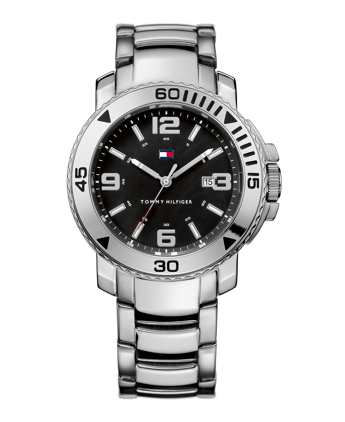 Tommy Hilfiger Watch, Men's Stainless Steel Bracelet 1790814