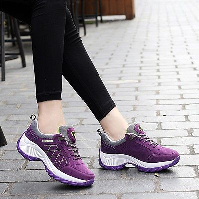 women's sports running shoes casual trainer outdoor hiking