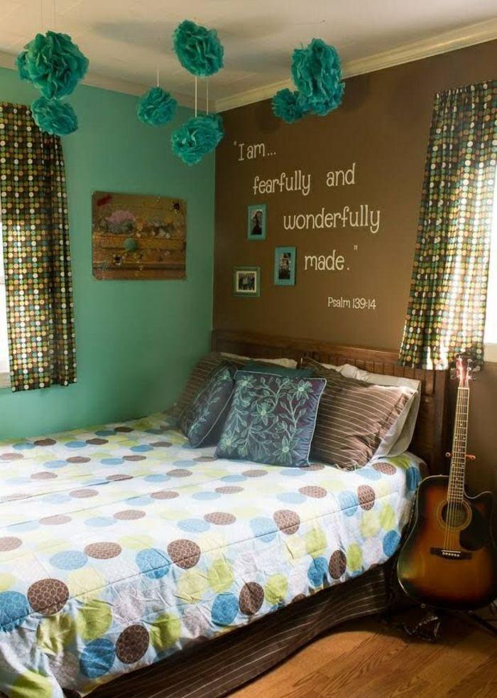 diy décoration chambre fille ado Déco chambre Pinterest Bedrooms