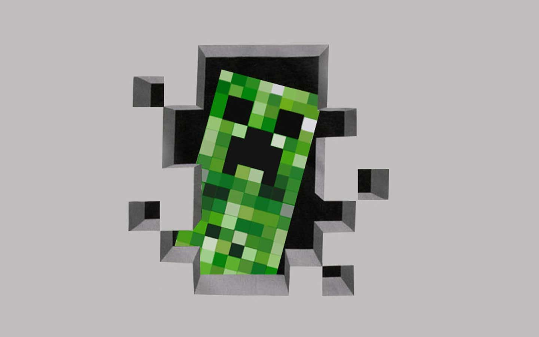 Minecraft Creeper Desktop Backgrounds Wallpaper Cave Detskie