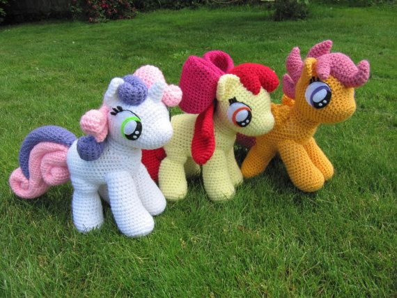Cutie Mark Crusaders Pattern - My Little Pony | Pinterest | Tejido