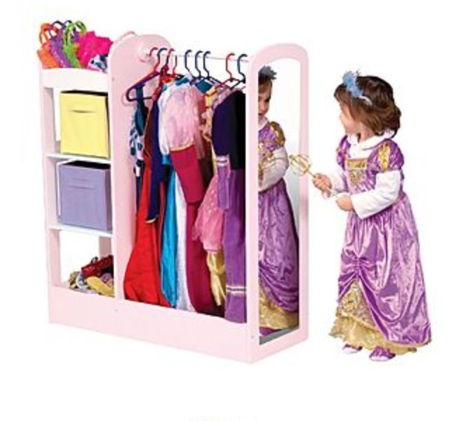 Dress Up Storage For My Little Surrogates Dress Up