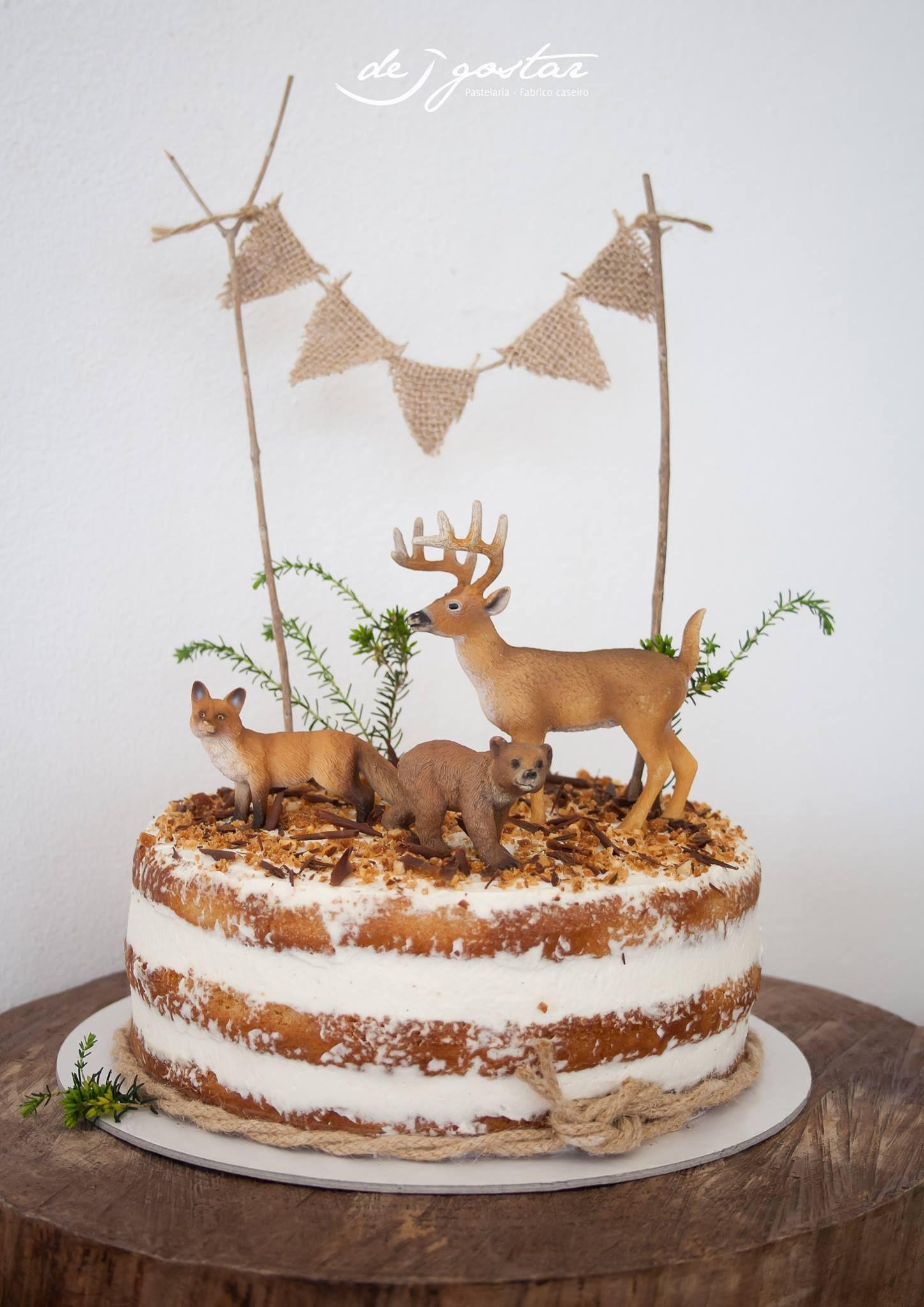 Rustikaler Tierkuchen In 2020 Kuchen Ideen Kuchen Kuchen Geburtstag