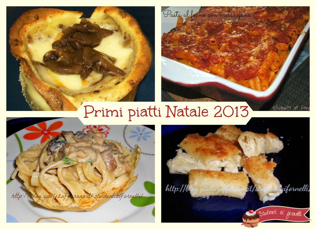 Idee primi piatti Natale 2013