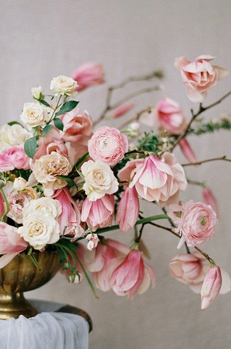 Soft Pink Spring Wedding Inspiration - Oncewed