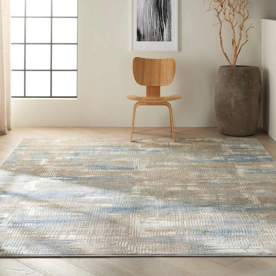 Teppich Rush Ck951 Calvin Klein Rechteckig Höhe 9 Mm Wohnzimmer Online Kaufen Otto Teppich Beige Teppich Bunt Teppich Design