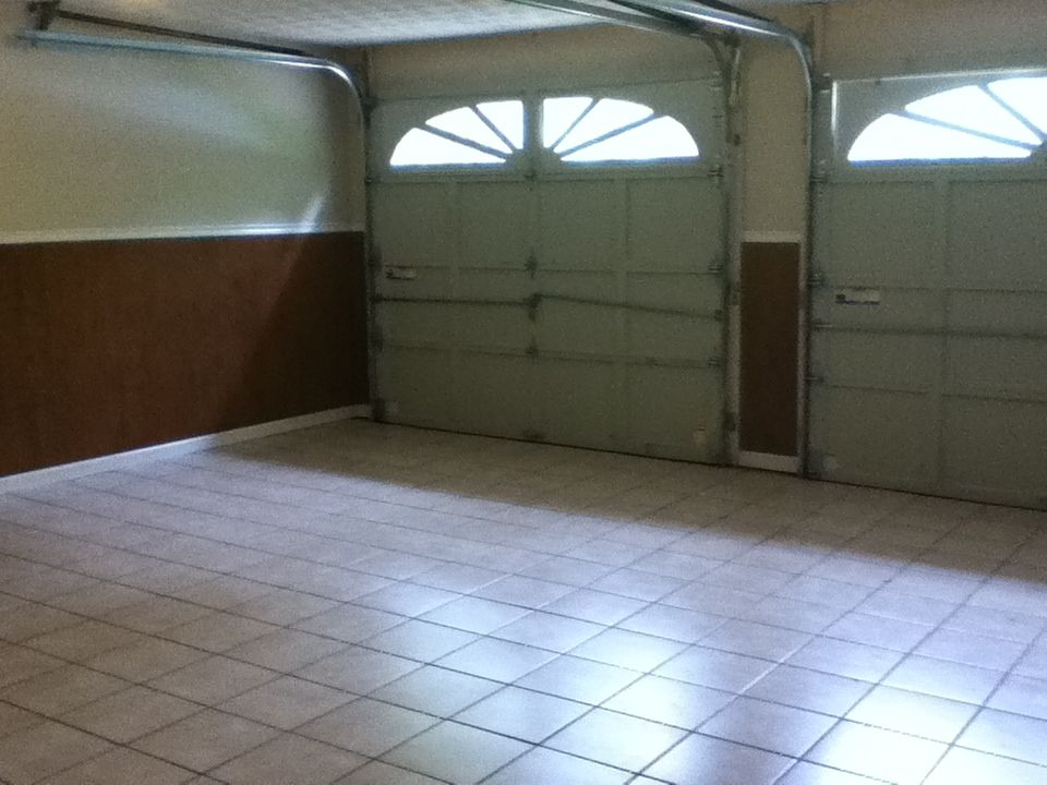 Tile in the Garage   House design, Home design floor plans ...