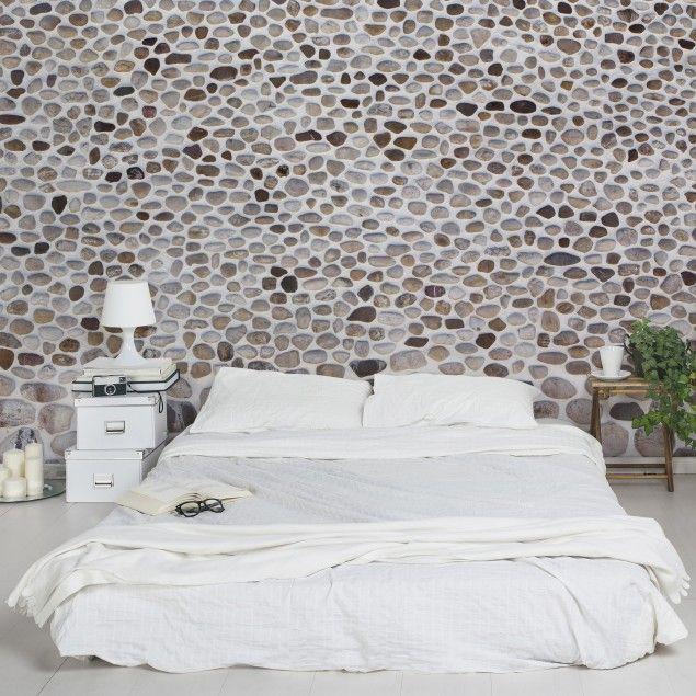 wand steinoptik tapete steinwand vliestapete premium andalusische steinmauer fototapete breit steintapete stein tapezieren