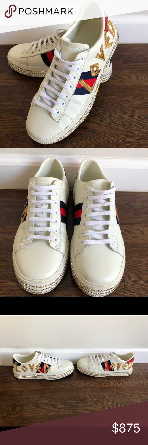 Gucci Platform Ace LOVED sneakers with