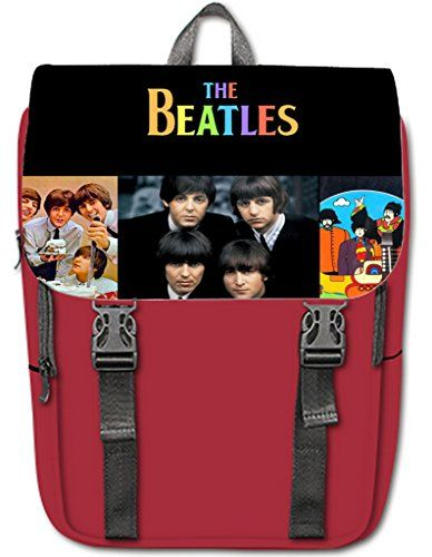 3027ed5096 Halocow Custom The beatles Casual Shoulders Backpack unique design ...