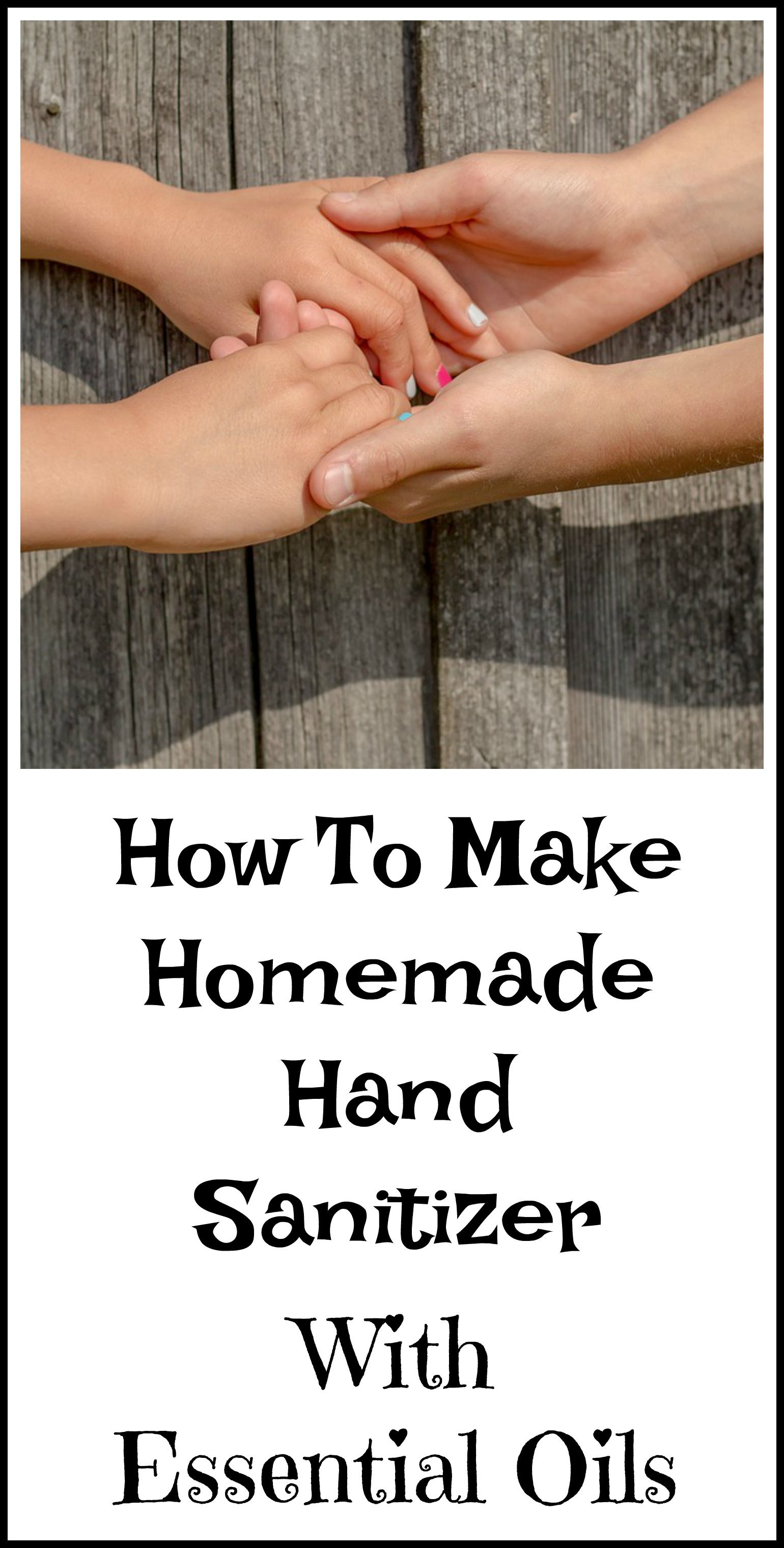 DIY Hand Sanitizer Without Alcohol Hand sanitizer