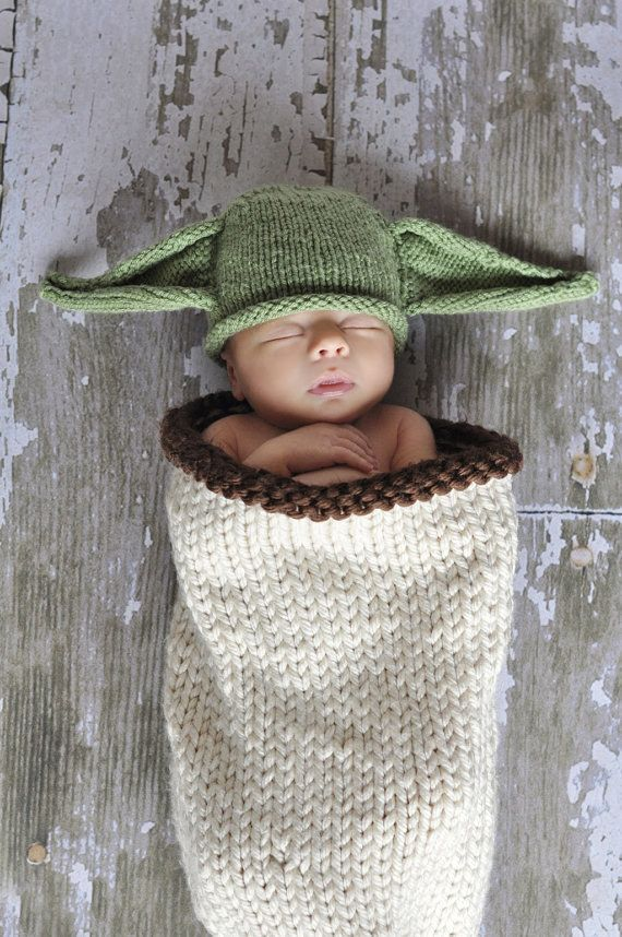 Baby Yoda Hat And Cocoon, $54.99 | Fans, Gift and Baby cocoon