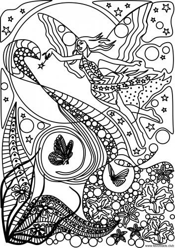 fairy favoreads free kindle books and adult coloring pages - Fairy Coloring Pages For Adults