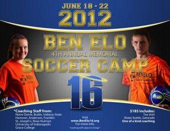 4th Annual Ben Elo Memorial Soccer Camp Summercamp In