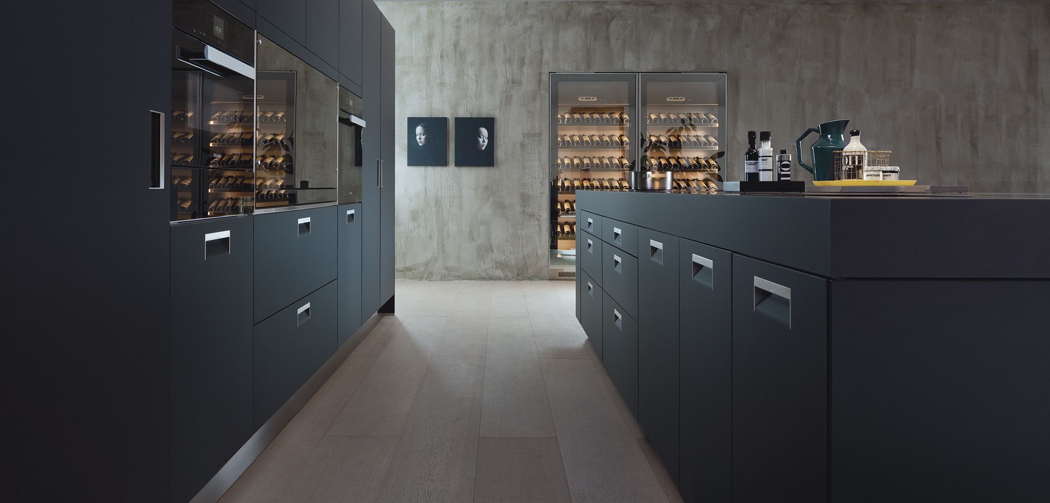 Cocina Arclinea Tirador Italia Acabado Armour Muebles De Cocina  # Muebles Den Haag