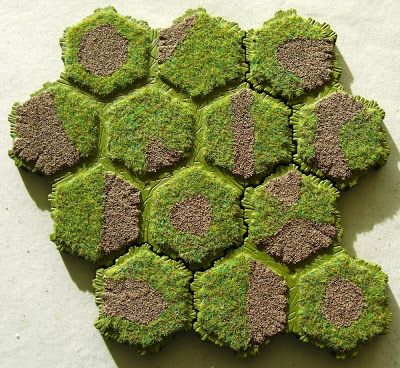 Wargaming Miscellany Even More Hex Terrain Experiments