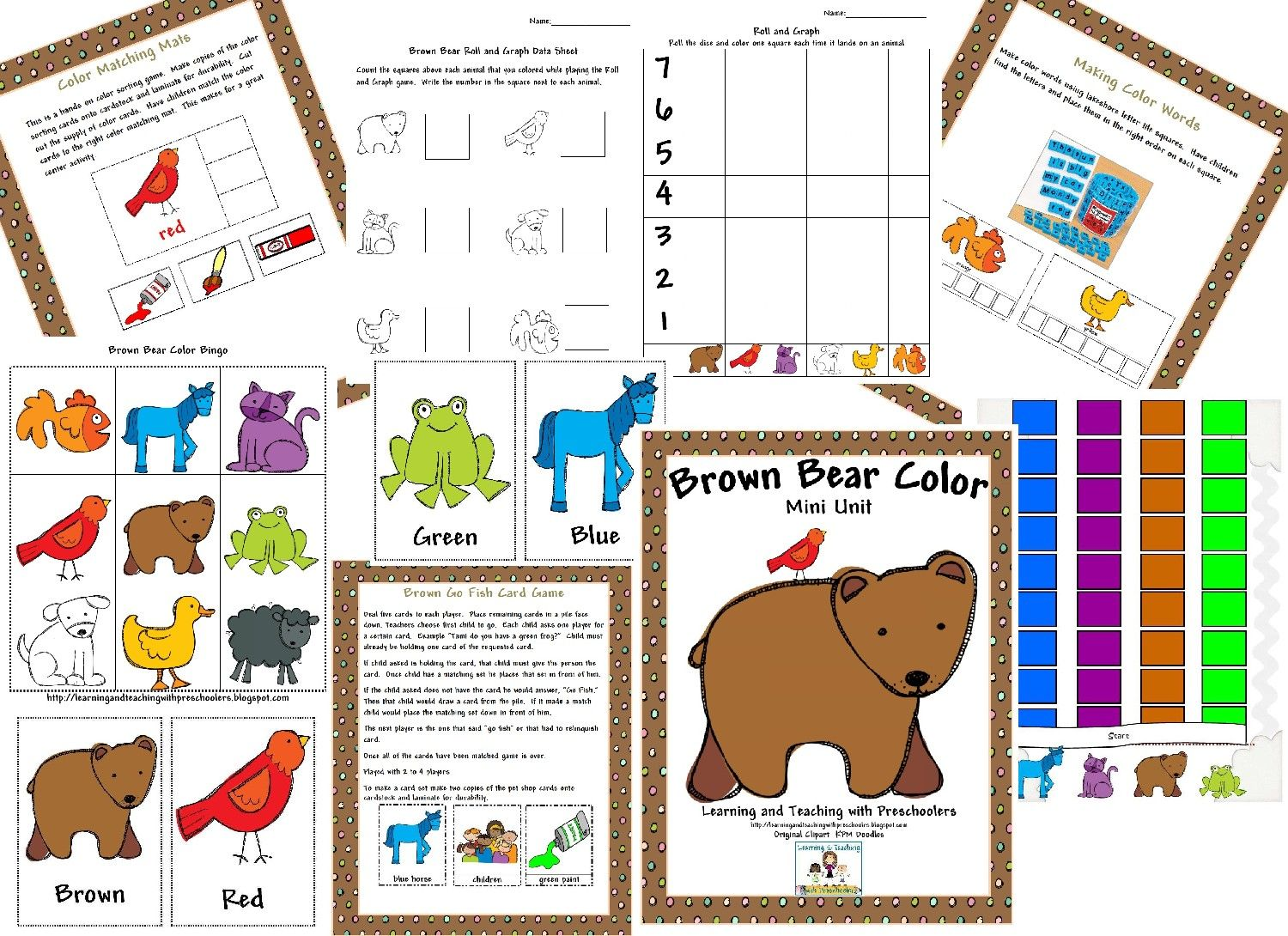 Brown Bear Freebie With Images