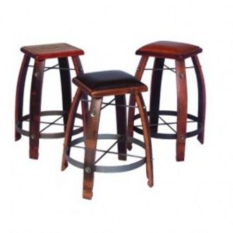 2 Day Designs 28 Inch Stave Stool With Wood Top Wine Barrel Furniture Wine Furniture Barrel Furniture