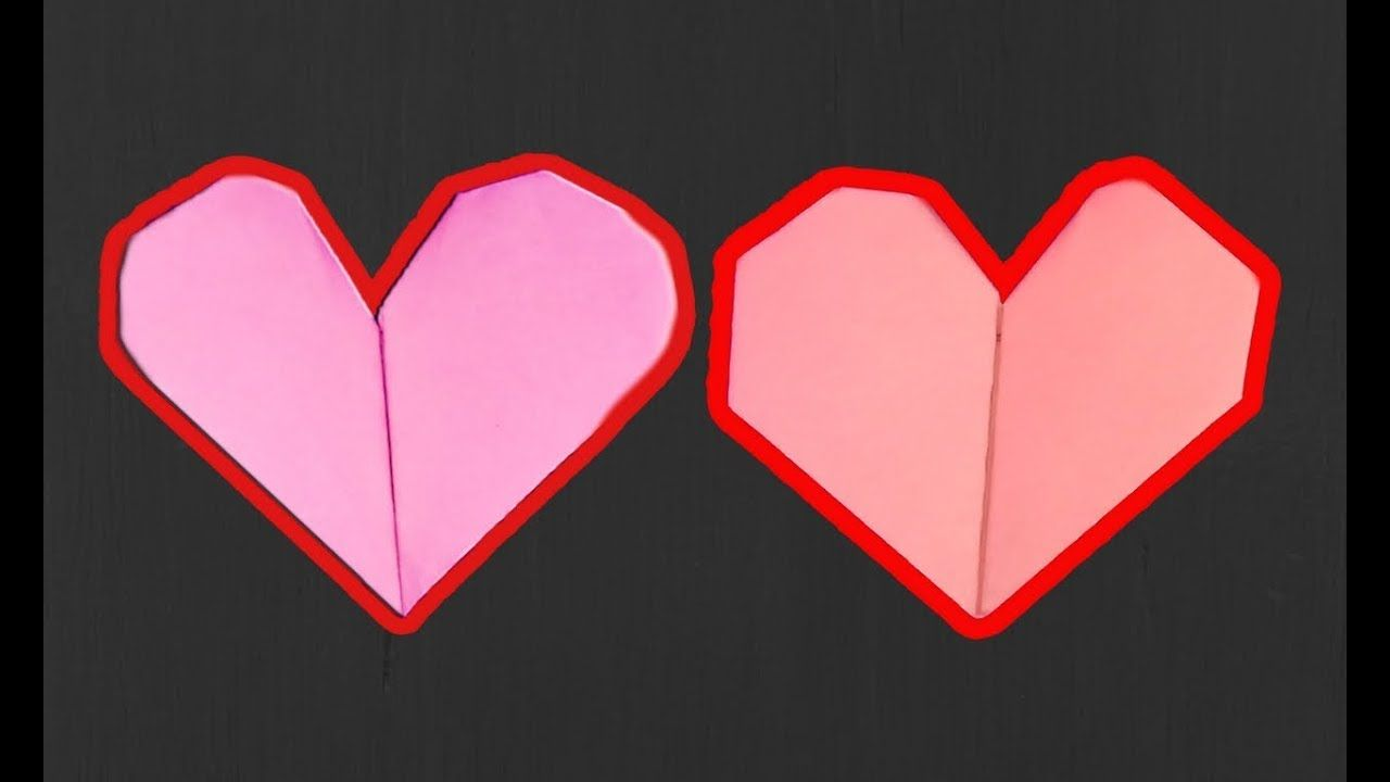Valentines day origami heart 3d love paper diy paper artistrd valentines day origami heart 3d love paper jeuxipadfo Gallery