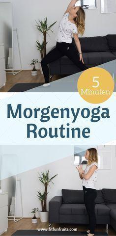 5 Minuten Morgenyoga Routine   fitfunfruits - Fitness- und Lifestyleblog aus Österreich