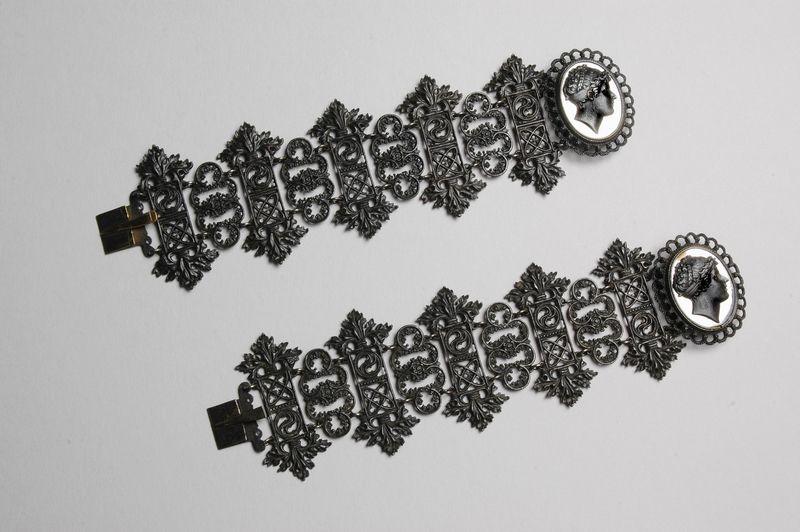 Pair of Berlin Iron Bracelets c.1806