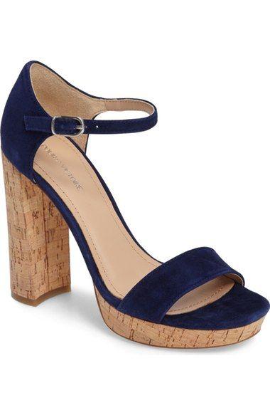2de4f36126b1a POUR LA VICTOIRE Yvette Platform Ankle Strap Sandal (Women).   pourlavictoire  shoes  sandals