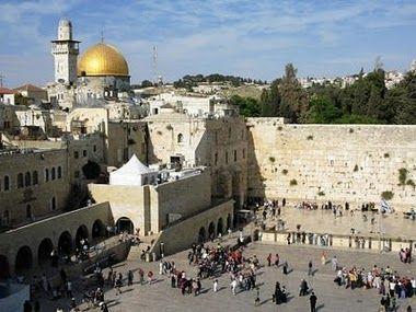 the wailing wall, Israel 2008