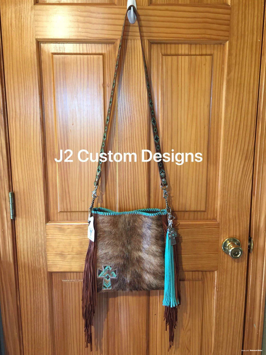 c30ad314a Crossbody Cowhide and Leather Fringe Purse with Free Shipping. Find this  Pin and more on J2 Custom Designs by Tammye Johnson. Excited to share this  item ...